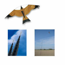 BIRD SCARER HAWK KITE &  Pole Kit CROP POND PROTECTION 5m to 10m