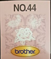 Brother Embroidery Card No. 44 Lace II for Brother embroidery machines very rare