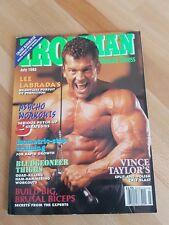Ironman bodybuilding magazine. 1993 Arnold Classic