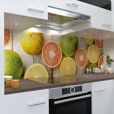 Kitchen wall Premium Rigid PVC 0,4mm Stove splashback for Citrus Kitchen.