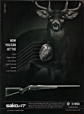 2010 SAKO A7 Rifle PRINT AD Hunting Firearms ADVERTISING