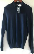 Polo Ralph Lauren Mesh Cotton Polo Jumper Navy Medium BNWT