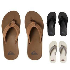 Quiksilver Carver Suede Mens Sandal Tkd0 / SBKM / XSSS - Brand New