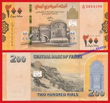 YEMEN ARAB REPUBLIC 200 Rials riales 2018 NEW COLOR DESIGN Pick NEW  UNC