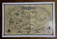 Vintage Walt Disney DISNEYLAND Park Map Placemat Big Thunder Mountain Railroad