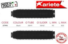 Soffietti Forcella Ariete Nero Universale Moto Enduro Off-road 07995 Made Italy