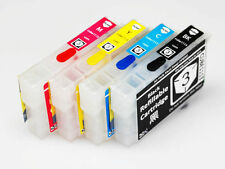 EMPTY Refillable Ink Cartridges for Epson Workforci WF-3010DW WF-3520DWF WF-7015