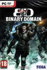 BINARY DOMAIN Tokyo 2080 (Win 7/Vista/XP PC Game) Free US Shipping