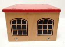 Brio Wood Wooden Train Garage compatible with Thomas