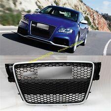 RS5 Front Sportback Sline Grille Silver/Black For Audi A5 S5 8T SFG 2008-2012 AU