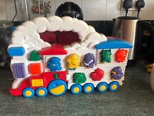 """Vintage Chicco Animal Train """"Electronic"""" Sounds Toy From 1994"""