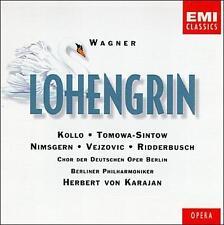 Wagner: Lohengrin Herbert von Karajan 3 CDs w/ booklet EMI Classics