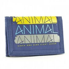 Animal Mens Barkley 3 Fold Wallet in Dark Cobalt