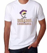 Dorados De Chihuahua Baseball Men's T-shirts Crew Neck 100% Cotton