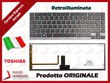 Tastiera ITALIANA per notebook TOSHIBA Portege Z830 Retroilluminata ITA