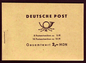(519) DDR MDN Markenheftchen 4b1 – TOP