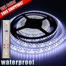 Refit Super Bright Cool-White 3528 SMD LED Waterproof IP65 Strip 300 LEDs DC 12V