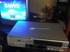 SANYO DVW-6100 DVD VHS VCR Combo Player 4-Head HI-FI VHS Recorder