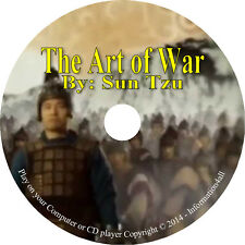 The Art of War by Sun Tzu – 13 Chapters Military Strategy - Audio Book on CD