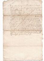 1647 manuscript receipt letter document