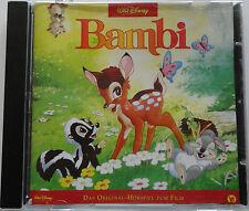 Bambi Walt Disney Original Hörspiel zum Film CD im neuwertigen Zustand