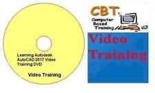 Learning Autodesk AutoCAD 2017 Video Training DVD