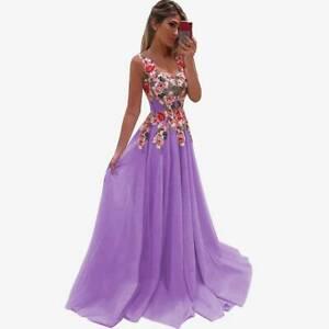 Brautjungfernkleid Lila In Damenkleider Gunstig Kaufen Ebay