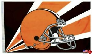 Browns FLAG 3X5 Cleveland 3 X 5 Banner American Football New Fast USA Shipping