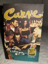 Liz Claiborne CURVE Cologne Splash Pour Homme Men Sample Vial New