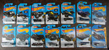 Hot Wheels Batman Batmobile Arkham Bat-pod tumbler The Bat variations  lot of 14