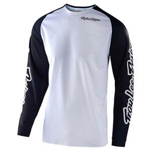 Troy Lee Designs TLD SE Pro Solo White Jersey MX ATV Motocross Off Road Riding