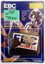 Hayes Stroker RUDER EBC Resina Bicicleta de montaña Pastillas Frenos (CFA466) (