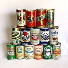 International Beer Can Lot of 15 Mixed Pt 330 - 375 ml Birell Caracu Xxx (10)