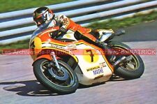 SHEENE Barry and SUZUKI TR 750 (N°7) Carte Postale Moto Motorcycle Postcard