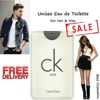 Calvin Klein CK One Eau de Toilette EDT Spray Men & Women Unisex Fragrance 20ml