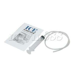Plastic White 25 Inch Ice Surrender Water Line Tool for Refrigerator Fitting