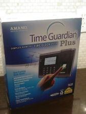 Amano Time Guardian Plus Fpt 40 Biometric Fingerprint Scanner Time Clock New