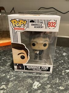 Funko Pop Television, The Umbrella Academy, Number Five, #932 NEW 🔥