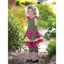 New Princess Paradise Pink Ladybug Girls 8 (M) or 10 (L)