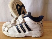Adidas Shoes Baby Toddler Size 5k Blue And White