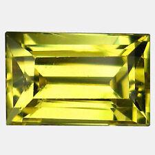 Good Cut Transparent Yellow Loose Natural Sapphires