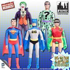 "Retro DC Comics Action Figures Series 1 18"" Set of 5 Figures"