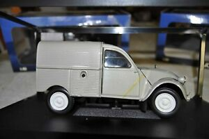 Miniature Neuve NOREV -NOREV 181500 CITROEN 2 CV Fourgonnette 1:18 1954 Grise