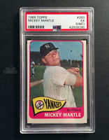 1965 Topps Mickey Mantle #350 New York Yankees Baseball Card PSA EX Solid 5 MC