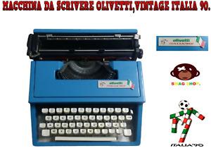 Macchina da scrivere,OLIVETTI,VINTAGE,ITALIA 90,Mario Bellini,type writer,calcio