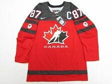 SIDNEY CROSBY RED TEAM CANADA 150TH ANNIVERSARY NIKE HOCKEY JERSEY
