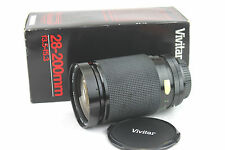 CANON FD Mount VIVITAR MC 1:3.5-5.3 F=28-200mm Macro 1:4 Zoom Lens (77703753).