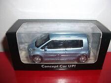 (23.3.15.1) VW Volkswagen concept car UP! UP bleu voiture 3 inch inches Norev