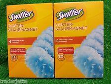 ( 1,12€/Stück) 8 Stück SWIFFER STAUBMAGNET Staubfang Tücher-Versand ab 2,50€