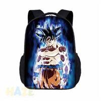 Dragon Ball Z Super Saiyan Dios Son Goko mochila estudiante escuela libro bolsa